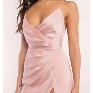 Tobi Dresses - Krish Satin Wrap Dress